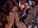 Pretty Cassadee Pope is named winner of The Voice... as the judges sing an emotional Good Riddance for Christina and Cee Lo