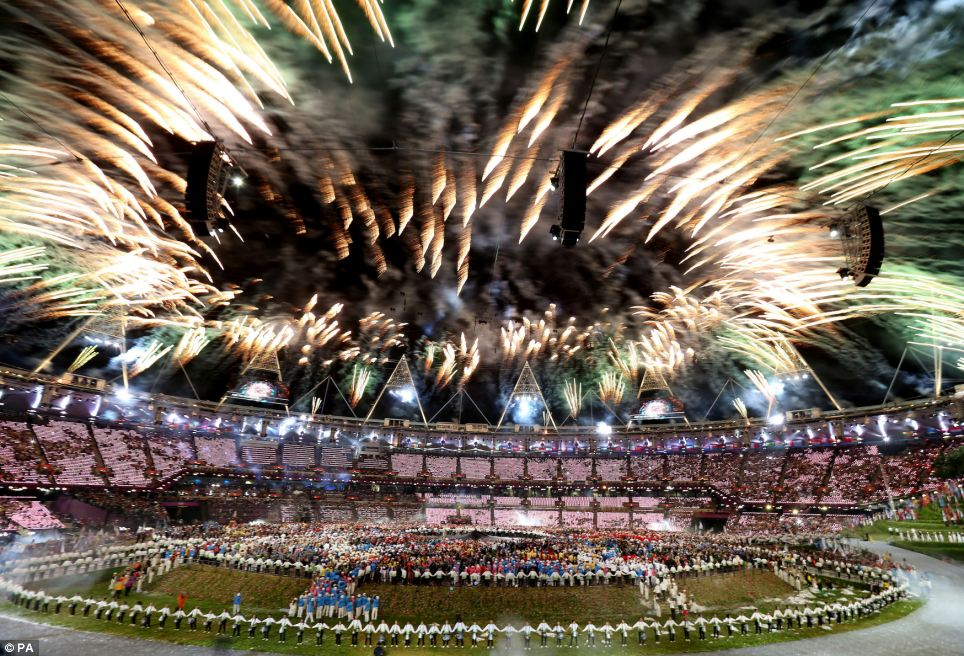What a blast: The Opening Ceremony of the London 2012 Olympic Games