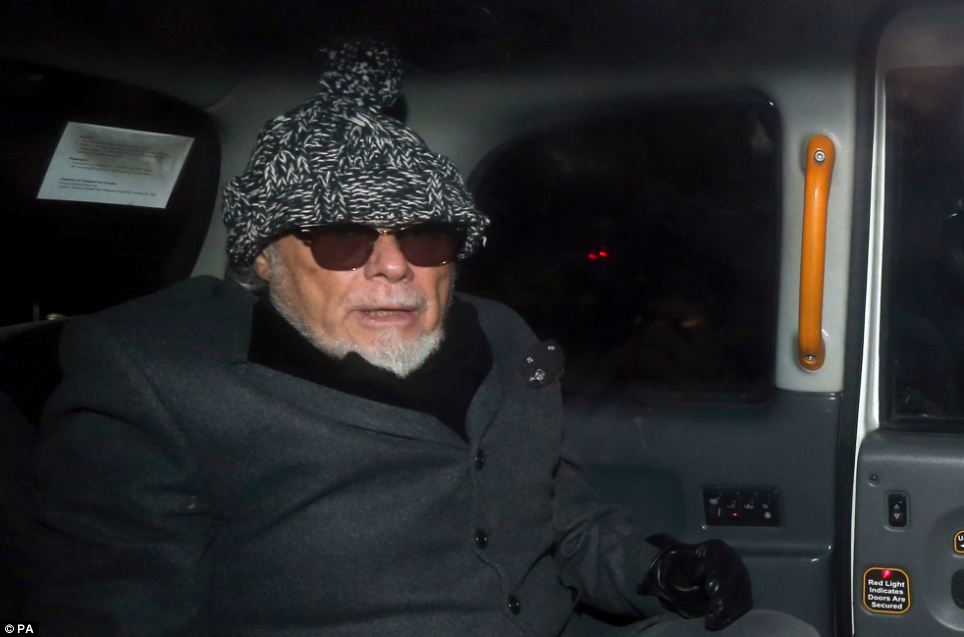 Investigation: Gary Glitter, whose real name is Paul Gadd, was arrested by police investigating the Jimmy Savile scandal