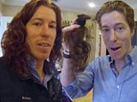 Flying Tomato no more! Snowboarding pro Shaun White chops off his trademark red locks for charity