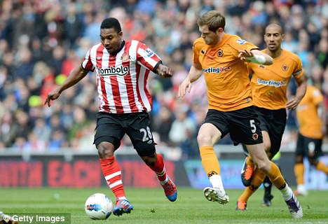 Hot and cold: Stephane Sessegnon has failed to hit the heights of last season