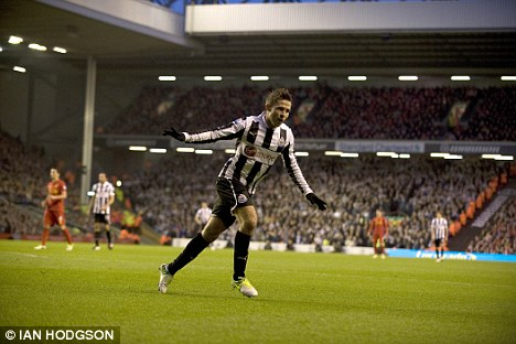 Sorely missed: Yohan Cabaye's injury has deprived Newcastle of a top midfielder