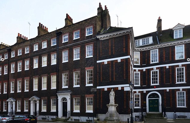 Desirable: Mr Carney might like this 18th century townhouse in Queen Anne's Gate