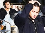 Twilight actor Bronson Pelletier claims he didn't urinate in public at LAX airport... and says he was set up by obsessed fan