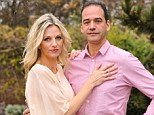 Holding on to her man: Lisa with her husband Joseph who has been propositioned by their au pair and her friends since she became a mother