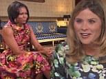 Michelle Obama on TODAY with Jenna Bush