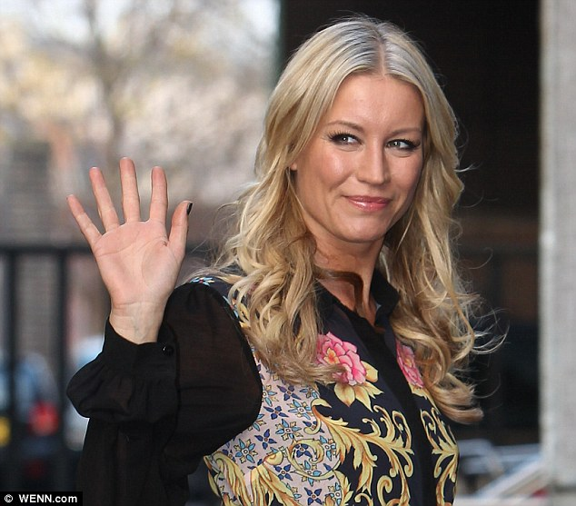 Just made it: Denise Van Outen looked like she might not make the final after being in the bottom two