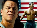 Action packed: Mark Wahlberg shows off ripped physique in trailer for 90's action comedy Pain & Gain
