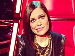 Jessie J posts Twitter snaps from her revolving chair as she wraps blind auditions on The Voice