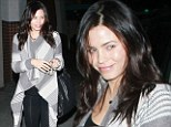 Mum's the word: Days after announcing her pregnancy Jenna Dewan keeps her baby bump firmly under wraps