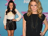 Ladies in leather! Khloe Kardashian and LeAnn Rimes dress up in sexy leather to celebrate X Factor finale
