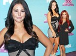 Supersize me? Amazonian JWoww towers over tiny Snooki as they attend X Factor final