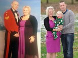 What a welcome home! Army wife surprises husband by losing almost FIVE STONE while he was in Afghanistan