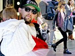Putting on a show for the parents: Nicole Richie and Joel Madden attend their children's school recital