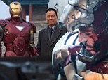 First look at Wang Xueqi as villainous Dr Wu in Iron Man 3... as new image of a bloodied and bruised superhero is released