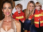 'I'm there for the boys': Denise Richards says she's always willing to help her daughters' brothers
