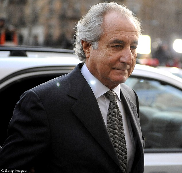 Bernard Madoff, 74, admitted to turning his wealth management business into a massive Ponzi scheme that defrauded thousands of investors of billions of dollars
