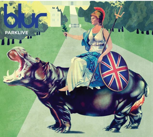 CD Cover 'Parklive' by Blur, who will have everyone leaping on to the dance floor