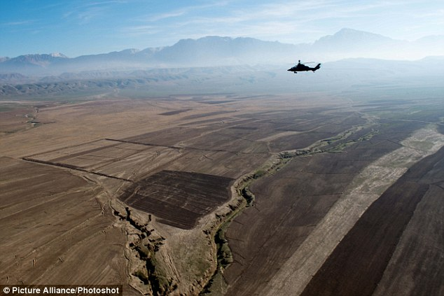 The plains near Mazar-Sharif, Afghanistan; the U.S. is readying for a 2014 withdraw of troop