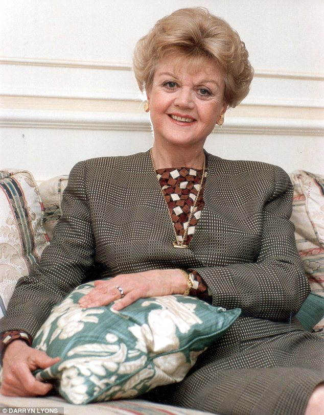 Sleuth: Angela gave Miss Marple a run for her money as Jessica Fletcher in long running TV series Murder She Wrote