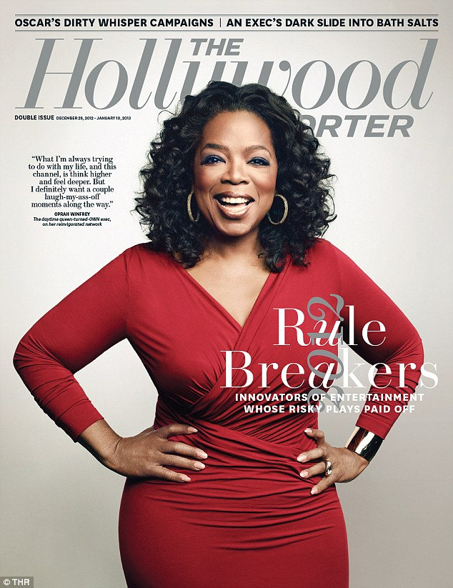 Growing success: Oprah's OWN network recently scored its tenth consecutive month of year-over-year ratings gains across key demos