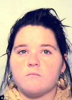 Kirsty Smedley has been jailed for four years after she allowed the death of her two-year-old son at the hands of her murdering boyfriend