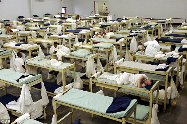 Struck down: A judge has struck down Alabama's decades-old policy of segregating prison inmates with HIV, ruling on Friday that it violates federal law