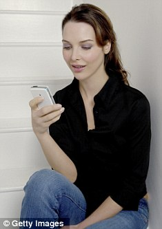 Logging in: The 4G services will allow superfast mobile access to the internet