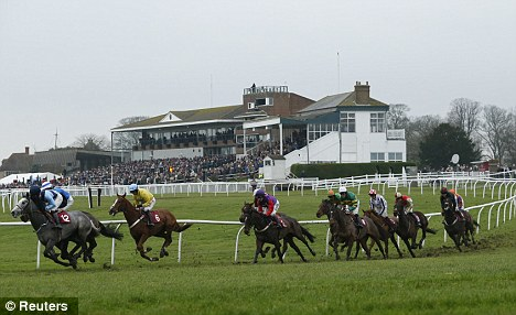 Final furlong: Folkestone and Hereford racecourses closed last week, after Northern Racing posted a loss