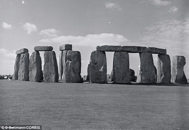 Inspiration: Fahey's Phonehenge West bore some resembles to the original, Britain's Stonehenge, in the way his structures were connected