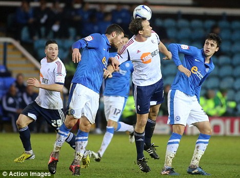 Topsy-turvy: Peterborough emerged on top after an epic tussle