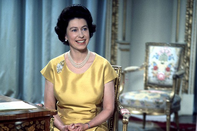 Glamorous: The Queen used this message in 1967 to speak about the  increasingly prominent role played by women in society