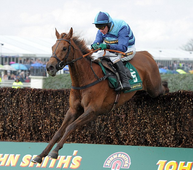 The pressure is on: Walsh on-board Kauto Stone at Aintree earlier this year