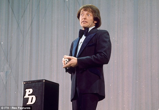 Revelations: Magician Paul Daniels, pictured in 1977, has admitted he can't remember all of his former lovers