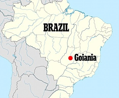 Kewsley de Oliveira, 31, who had spent the night drinking vodka at a bar in Goiania, central Brazil, was walking home when he broke into the city morgue