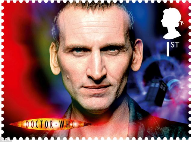 The ninth Doctor Christopher Eccleston