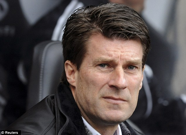 Another level: Michael Laudrup has driven the players forward at the Liberty Stadium