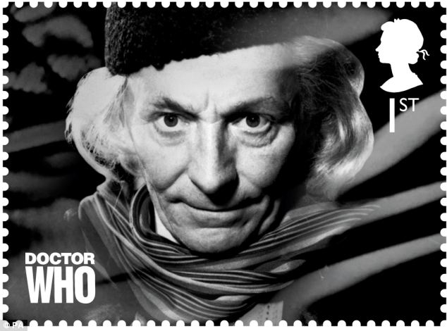 The first Doctor William Hartnell