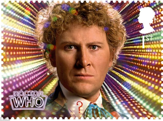 The sixth Doctor Colin Baker