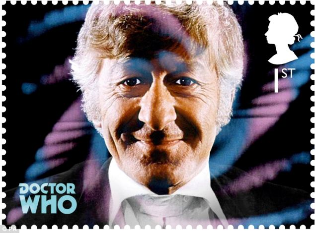 The third Doctor Jon Pertwee