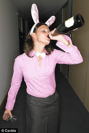 Liz Hoggard says that alcohol plus Christmas equals many cringe-worthy moments of party shame