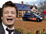He's pimped her ride! Jamie Oliver cooks up a new car for wife Jools