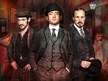 It will be gruesome this Christmas... Matthew Macfadyen and Jerome Flynn in first official stills for Ripper Street