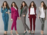 Suits you, madam! If legs are not your best feature then forget LBDs - LIZ JONES says this New Year there's no sexier party look than a well-cut trouser suit
