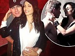 Bundle of joy: Channing Tatum and Jenna Dewan, who are expecting their first child in 2013, looked too cute for words in this WhoSay photo posted by Channing on Christmas Day