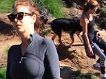 So that's how she does it! Kate Walsh, 45, hikes her way to a youthful body in the Hollywood Hills
