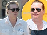 Watching his weight: Val Kilmer shows off his slimmer waistline as he steps out for a healthy brunch