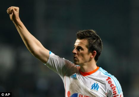 Barton has quickly become popular amongst Marseille supporters in his seven matches