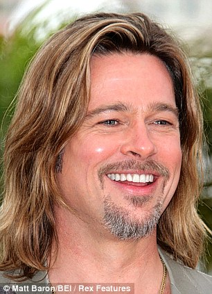 Brad Pitt: Currently appearing in an advert for some fragrance company wearing a goatee that makes him look like a Liberal Democrat