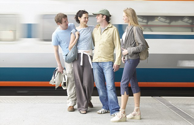 Thinking twice: British holidaymakers may consider alternative modes of transport as train fares are set to rise